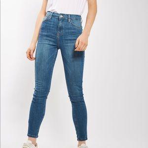 Topshop MOTO Authentic Blue Jamie Jeans W25L30